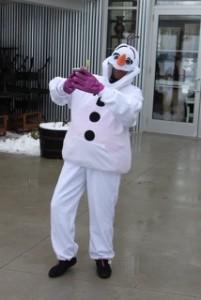 2014 polar plunge Olaf